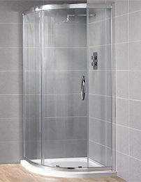 Aquadart Venturi 8 900 x 900mm Single Door Shower Quadrant