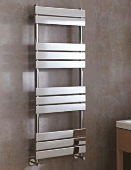 Phoenix Sorento Designer Flat Panel Towel Rail 500mm x 950mm