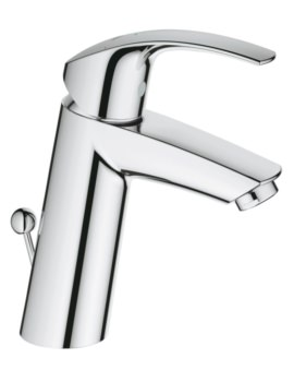 Grohe Eurosmart Half Inch M-Size Basin Mixer Tap With Pop Up Waste