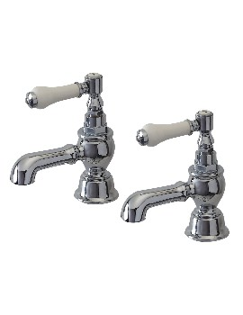 Phoenix YO Series Pair Of Bath Taps Chrome