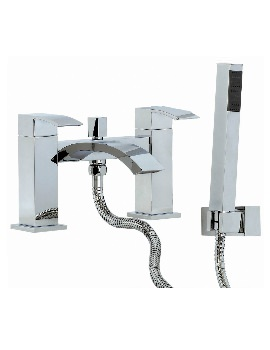 Phoenix VK Series Deck Mounted Bath Shower Mixer Tap With Kit