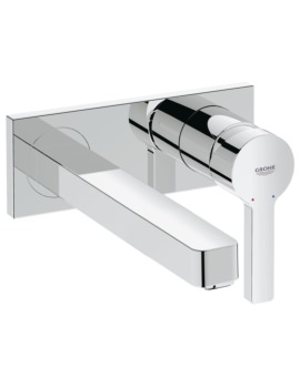 Grohe Lineare M-Size Wall Mounted 2 Hole Basin Mixer Tap