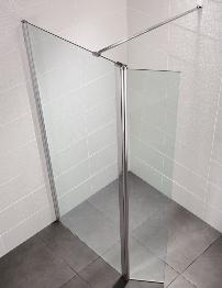 April Identiti2 1000mm x 1950mm Wetroom Glass Panel