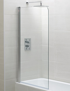 April Identiti2 800 x 1400mm Single Bath Screen