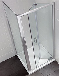 April Identiti2 700-760mm Bifold Shower Door