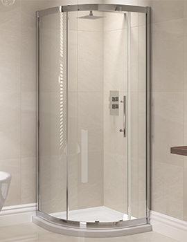 April Prestige 1200 x 800mm Single Door Offset Shower Quadrant