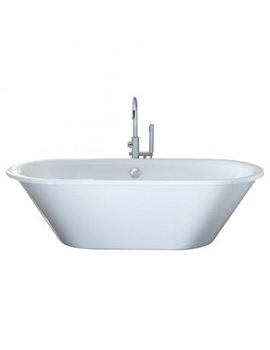 April Haworth 1800 x 800mm Thermolite Skirted Freestanding Bath