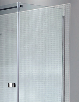 April Prestige Frameless Side Panel For Shower Enclosure
