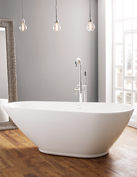 April Danby 1740 x 820mm Contemporary Freestanding Bath