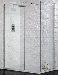 Aquadart Wetroom 8 Walk-In 1000mm Shower Panel