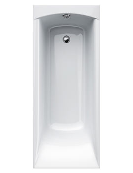 Carron Delta 5mm Acrylic Single Ended Rectangular Bath 1650 x 700mm