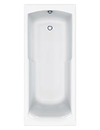 Carron Index 5mm Acrylic Single Ended Shower Bath 1700 x 750mm