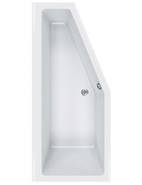 Carron Quantum Space Saver 5mm Acrylic Left Hand Bath 1700 x 750mm