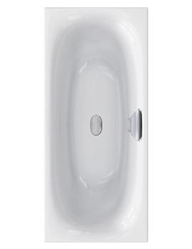 Carron Echelon 5mm Acrylic Double Ended Bath 1800 x 800mm