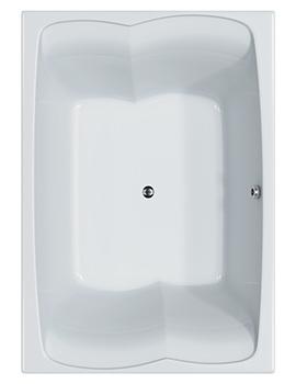 Carron Celsius Duo Double Ended Carronite Bath 2000 x 1400mm
