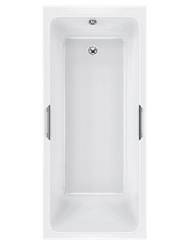 Carron Quantum Integra 5mm Acrylic 1700 x 700mm Single Ended Bath
