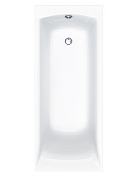 Carron Sigma 5mm Acrylic Single Ended Rectangular Bath 1800 x 800mm