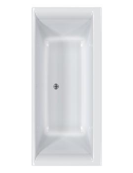 Carron Haiku 5mm Acrylic Double Ended Bath 1800 x 900mm