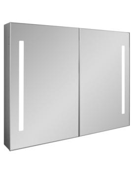 Bauhaus Allure Double Door Mirror Cabinet 900 x 700mm