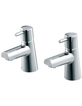 Ideal Standard Cone Washbasin Pillar Taps