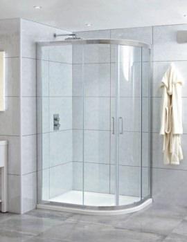 Phoenix Spirit 1200 x 900mm RH Quadrant Shower Enclosure With Tray