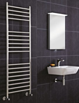 Phoenix Athena 500 x 1400mm Stainless Steel Pre Filled Electric Radiator