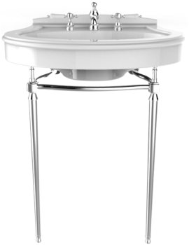 Heritage Abingdon Chrome Washstand For Claverton Basin