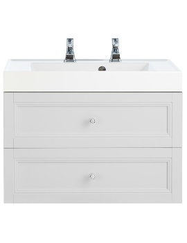 Heritage Caversham 700mm 2 Drawer Wall Hung Furniture Vanity Unit