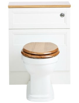 Heritage Claverton Back-To-Wall WC Pan 527mm