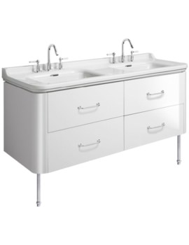 Bauhaus Waldorf 1500mm Basin Unit With Legs And 4 Handles