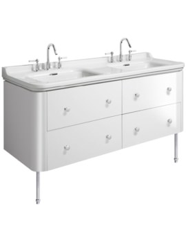 Bauhaus Waldorf 1500mm Basin Unit With Legs And 8 Knobs