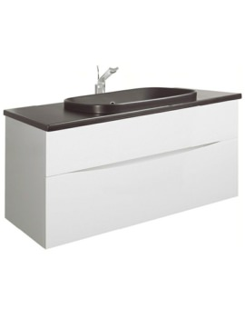 Bauhaus Glide II 1000mm Unit With PlusTon Worktop And Basin