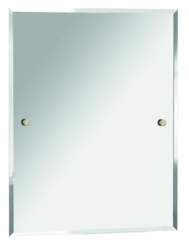 Bristan Rectangle 700x550mm Mirror Gold