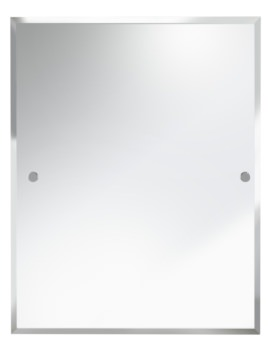 Bristan Rectangle 700x550mm Mirror Chrome