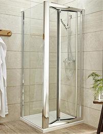 Lauren Pacific 1000 x 1850mm Bi-Fold Shower Door