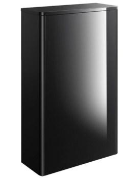 Bauhaus Waldorf Black Gloss 559mm Back To Wall WC Unit