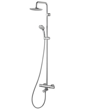 Ideal Standard Ceratherm100 Chrome Dual Shower Pack