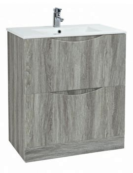 Phoenix Malmo 750mm Floor Standing Avola Unit With Basin