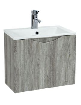 Phoenix Malmo 400mm Wall Mounted Avola Unit With Basin