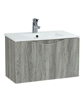 Phoenix Malmo 600mm Wall Mounted Avola Unit With Basin