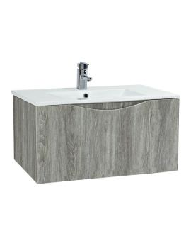 Phoenix Malmo 750mm Wall Mounted Avola Unit With Basin