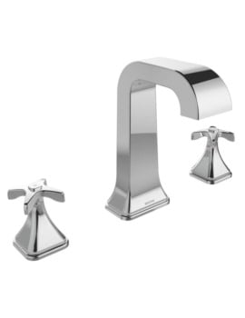 Bristan Glorious Three Hole Deck Mounted Bath Filler Tap