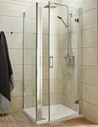Lauren Pacific 800 x 1850mm Hinged Shower Door