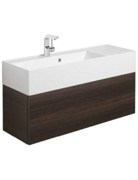 Bauhaus Elite 1000mm Single Drawer Basin Unit