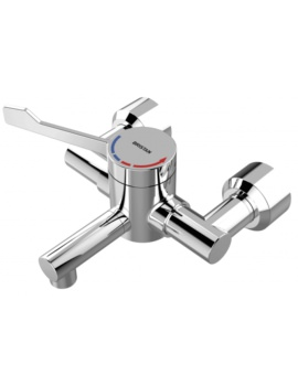 Bristan Commercial Wall Mounted Basin Mixer Tap