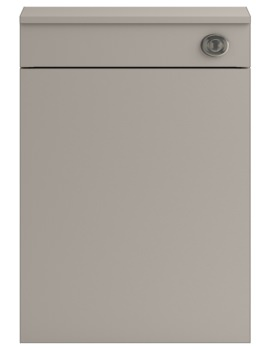 Lauren Shipton Stone Grey 500mm Back-To-Wall WC Furniture Unit