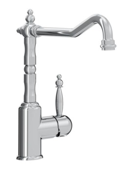 Bristan Colonial Single Lever EasyFit Kitchen Sink Mixer Tap