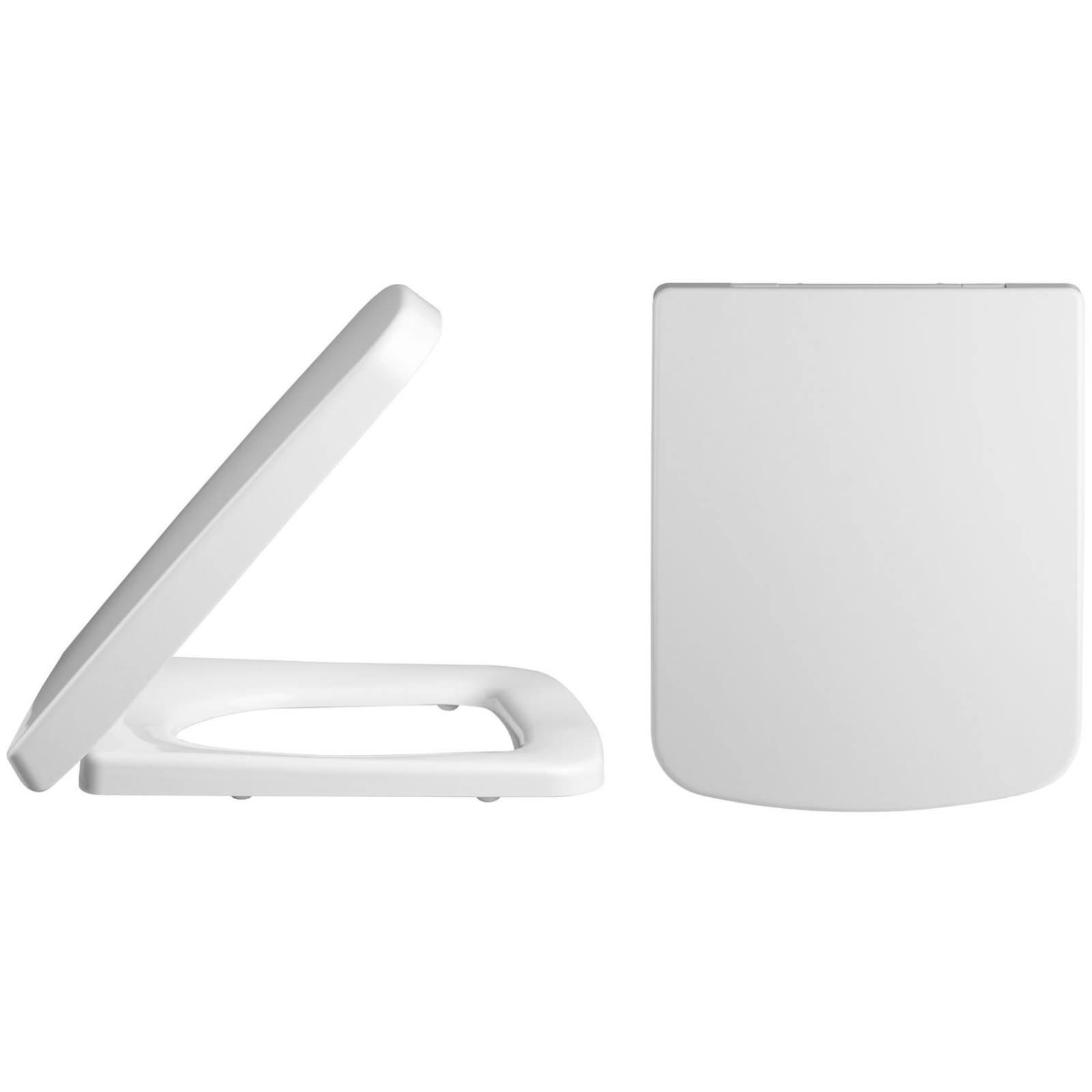 lauren standard square top fix soft close toilet seat and. Black Bedroom Furniture Sets. Home Design Ideas