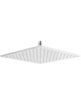 Premier 300 x 300mm Square Fixed Shower Head With LED
