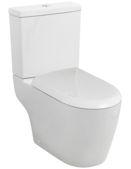 Nuie Premier Ambrose 670mm Semi Flush To Wall Pan With Cistern